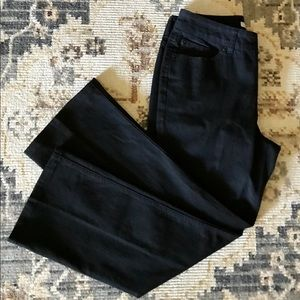 Chico's Platinum Black Jean